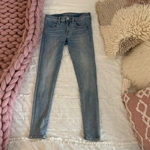 american eagle mid rise jeans